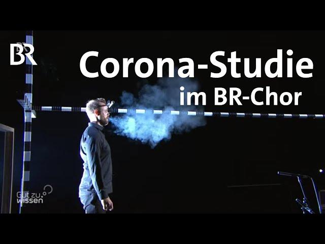 Proben in Bayern wieder erlaubt: Chor-Studie mit BR-Chor - Singen trotz Corona   Gut zu wissen   BR