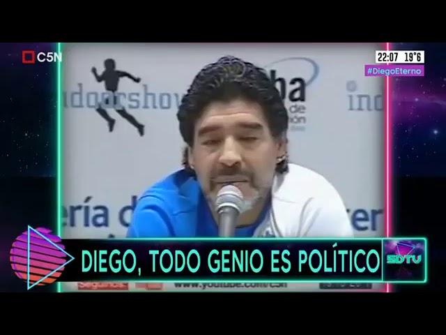 Diego, Todo Genio Es Politico