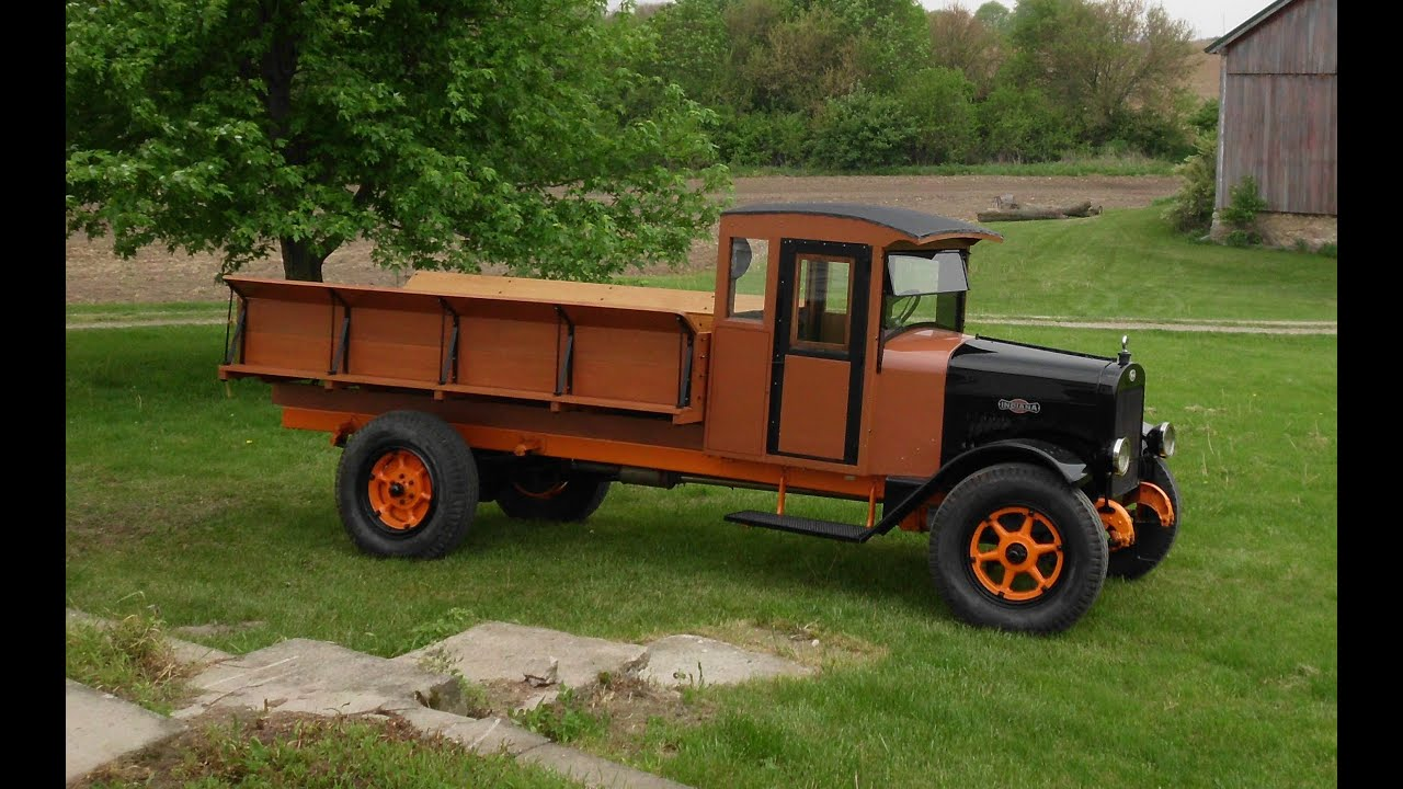 1925 indiana truck story from barn find to show truck youtube. Black Bedroom Furniture Sets. Home Design Ideas