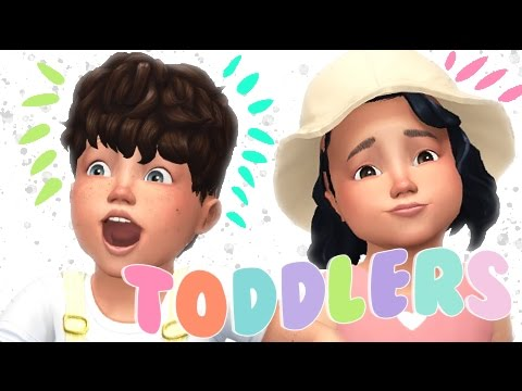 The Sims 4: CC Shopping // TODDLERS ONLY 90 + ITEMS!