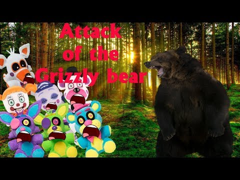 Fnaf Plush-Attack of the Grizzly Bear