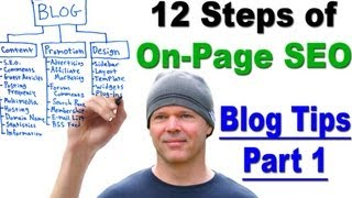 On-Page SEO - Learn the 12 Steps of On-Page SEO - Blog Tips Part 1