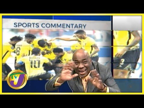 Reggae Boyz - Mi Shame   TVJ Sports Commentary - Sept 6 2021