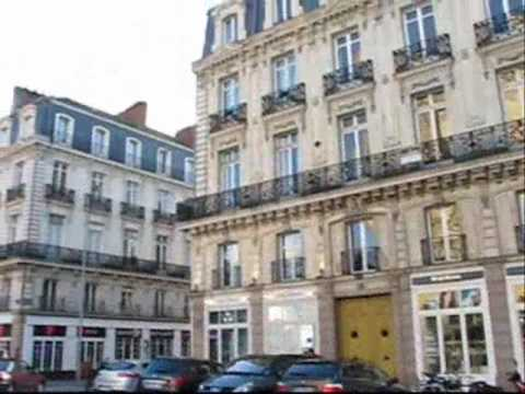 NANTES France, Southern Brittany, Nantes City (Holiday Travel Guide)