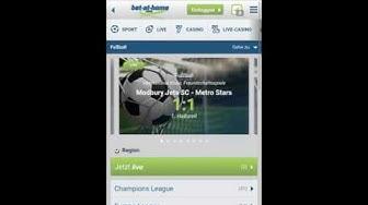 Bet at home App - mobile App von bet-at-home.com
