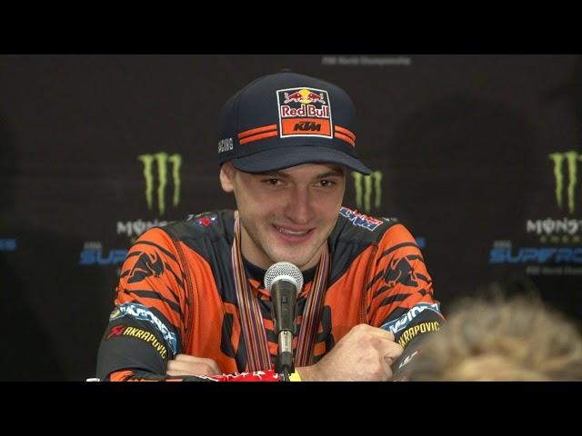 450SX Post Race Press Conference - Las Vegas - Race Day LIVE 2019