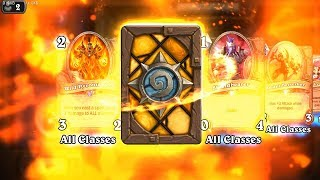 Onyxia and Wild Pyromancer - Classic Hearthstone legendary and rare card pack opening