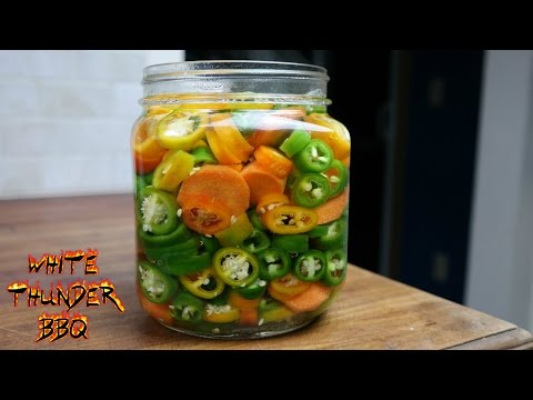 Pickled Jalapenos and Carrots Recipe | White Thunder BBQ