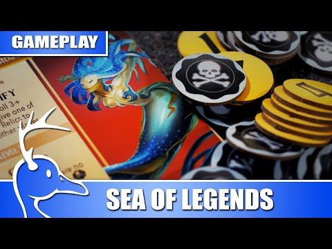 Sea Of Legends - 2 Player Gameplay - (Quackalope Games)