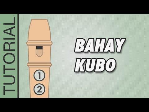Bahay Kubo - Recorder Flute Tutorial