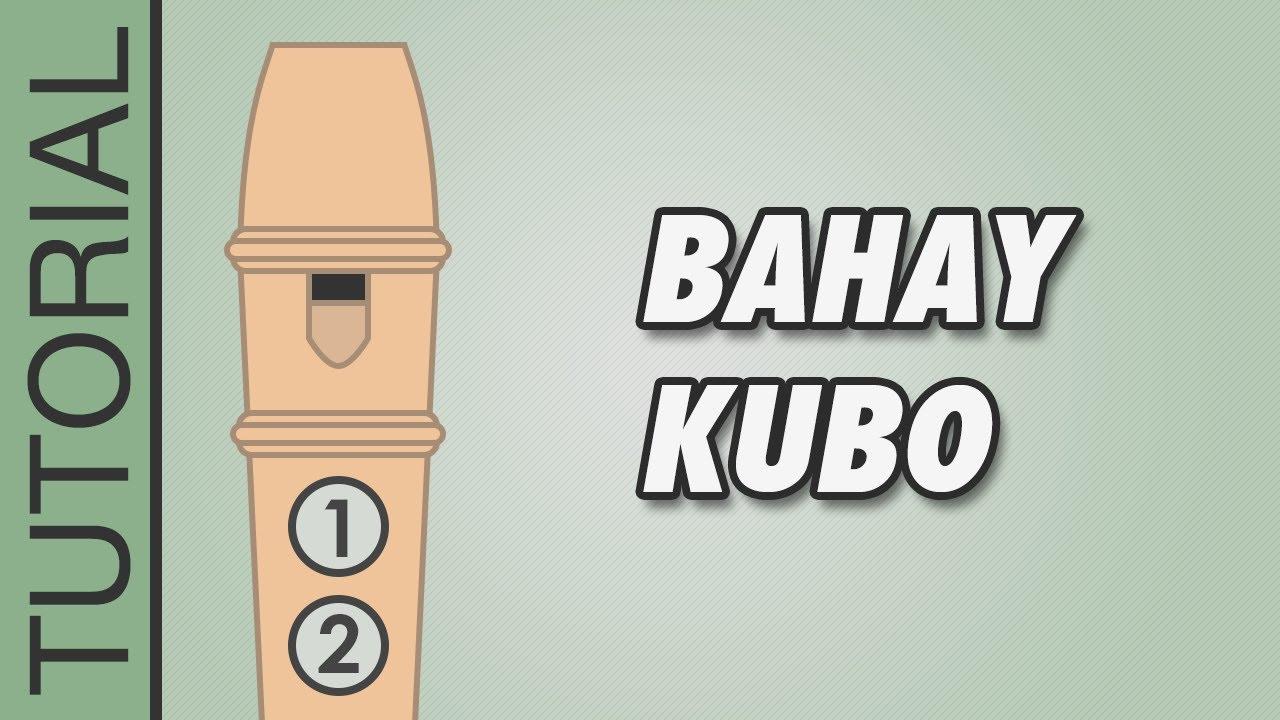 Bahay Kubo Recorder Flute Tutorial Youtube