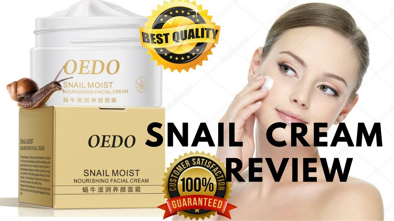 Snail cream review, Snail cream,Snail cream before and after,Snail ...