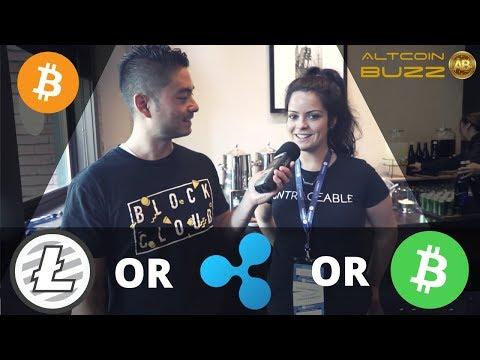 Bitcoin Ladies choose between Ripple, Litecoin and Bitcoin Cash
