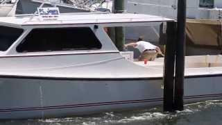 2012 Cape Charles Clam Slam Boat Docking Contest