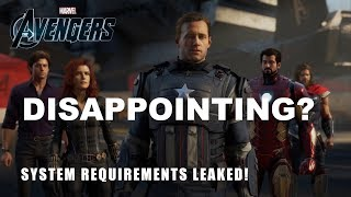 3 Reasons Avengers Game is Dissapointing | Avengers A-Day System Requirements Leaked