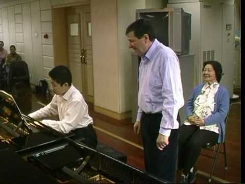 """Liszt in China"" - Jacques Rouvier  -  piano masterclass -  a clip by Ger Poppelaars"