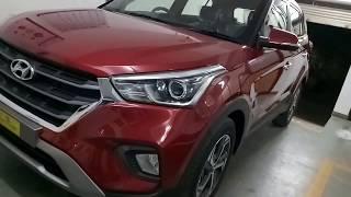 First In segment Hyundai Creta 1.6SX O | Fiery Red  2018