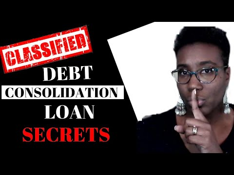 Debt Consolidation Loans? | What Banks Don't Want You To Know That Can Save You $1,000's??