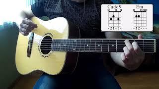 Как играть боем на гитаре   бой восьмерка самый быстрый урок