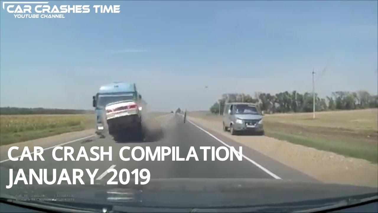 Car Crash Compilation January 2019 Ep 1 Youtube
