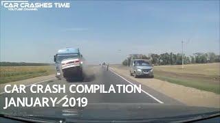 Car Crash Compilation - January 2019 - #Ep.1