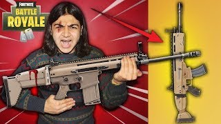 Fortnite Guns In Real Life - Updated (P90, Guided Missile Launcher)