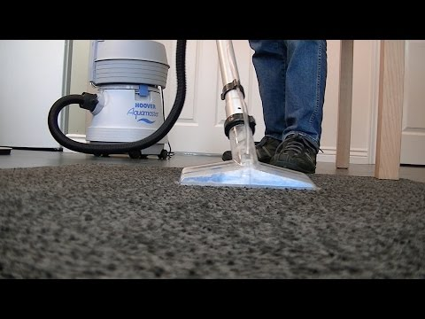 Hoover Aquamaster S4470 Vacuum Cleaner Carpet & Floor Washing Demo Part Three