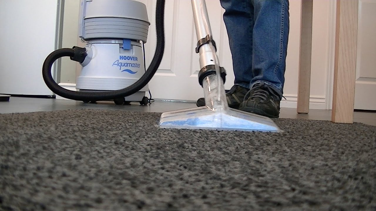Hoover Aquamaster S4470 Vacuum Cleaner Carpet Floor Washing Demo Part Three