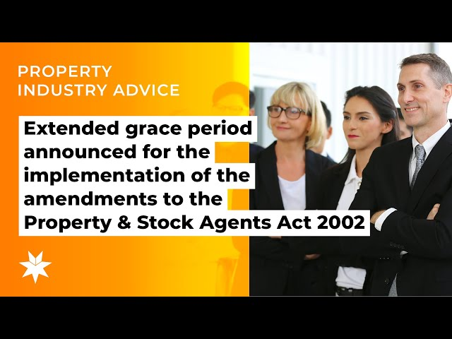 Extended grace period announced for the implementation of the amendments to the Act 2002.
