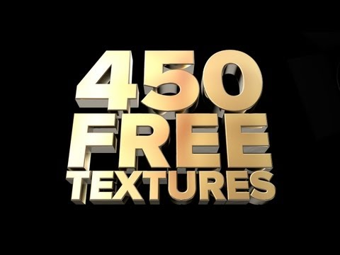 FREE TEXTURE PACK - Over 450 Textures for Cinema 4D