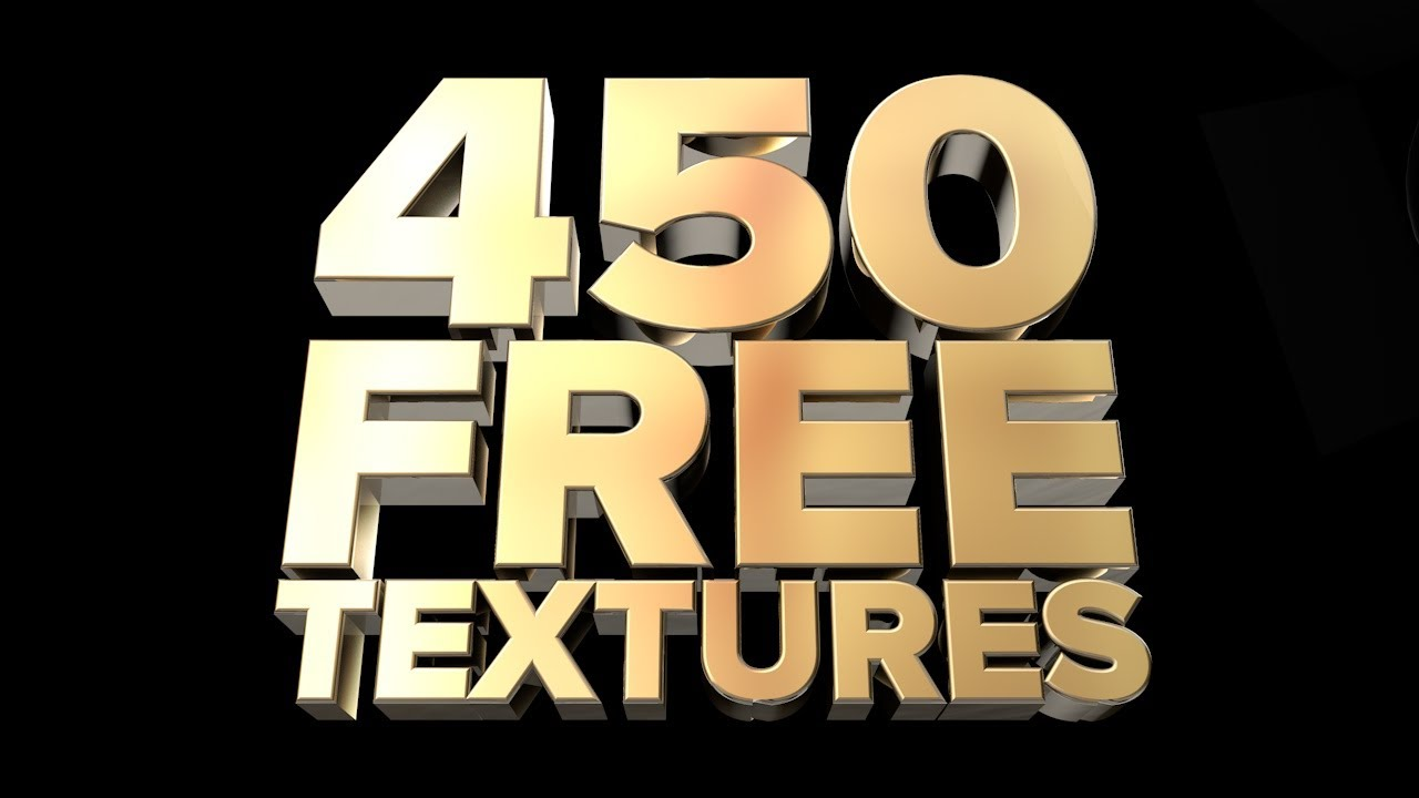 FREE TEXTURE PACK - Over 450 Textures for Cinema 4D (old)
