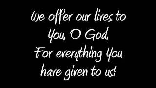 Lyrics Wonderful, Magnificent God by Don Moen
