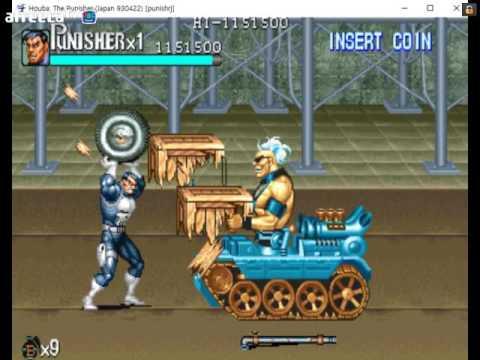더 퍼니셔(The Punisher) 무한 수류탄과 계속 권총 모드로 플레이