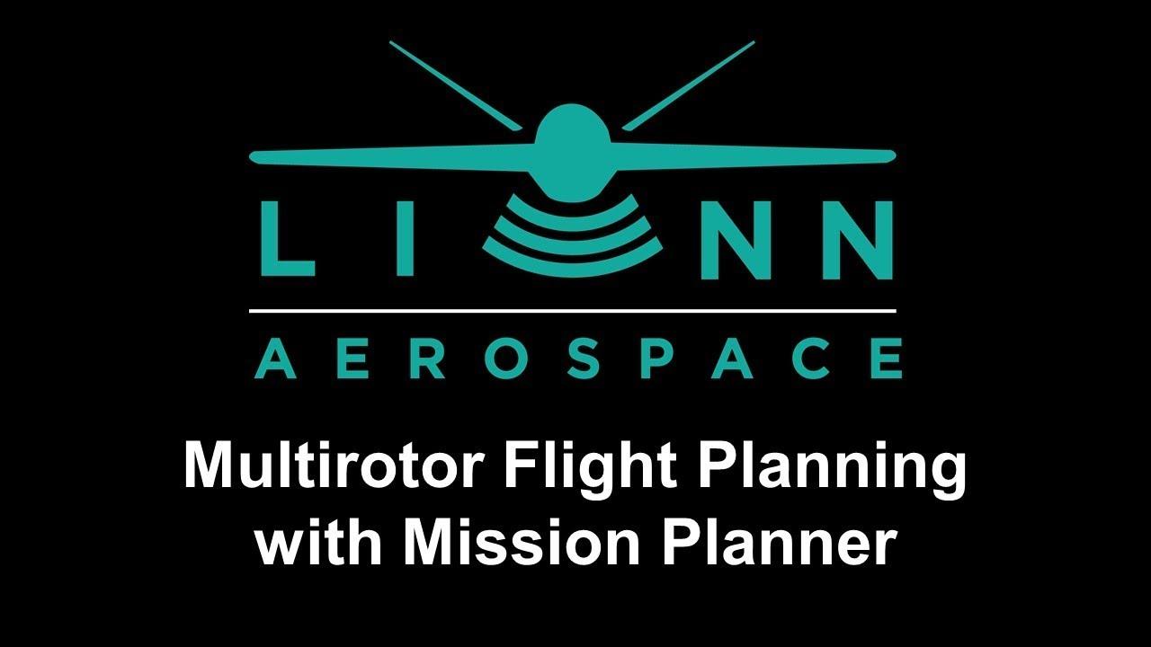 Mission Planner Flight Planning for Multirotor