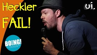 HECKLER in COMEDY Show in Köln!