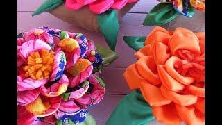 Peso de porta Rosa por Márcia Aki