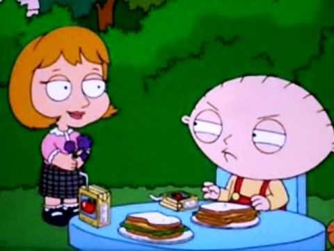stewie and his girlfriend