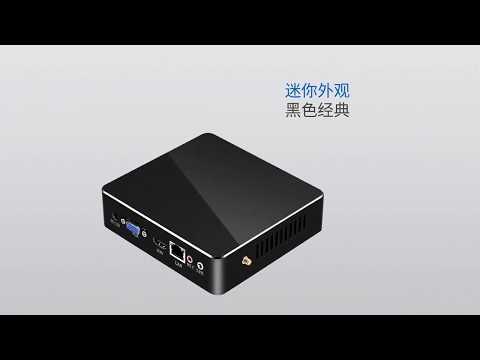 Смотреть XCY X35 Mini PC Intel Core i7-5500U i5 5200U i3 5005U Windows 10 300M WiFi  NUC Compact PC онлайн