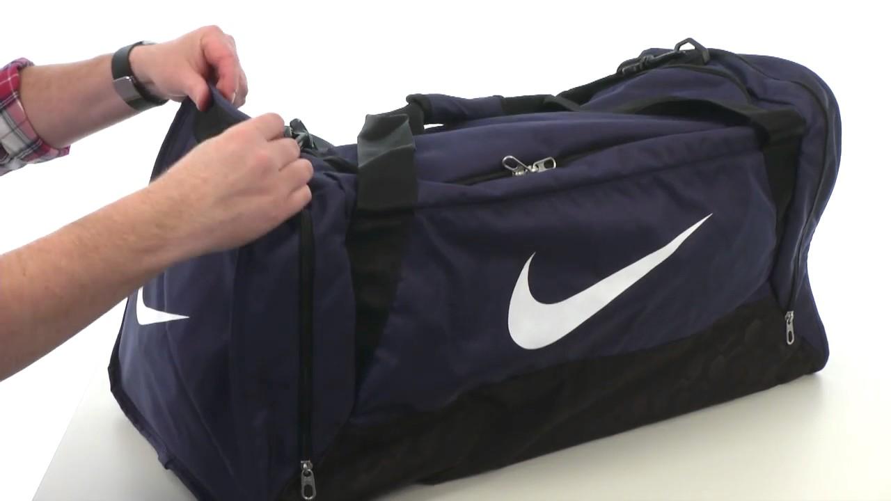 e56dae86f7 Nike Brasilia 6 Large Duffel - YouTube