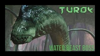 Turok - Water Beast Boss - Gameplay / Walkthrough | PC / HD |