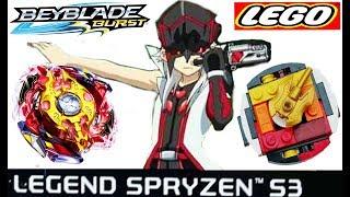 БейБлэйд МЕГА БОЙ СПРАЙЗЕН С3 HASBRO VS LEGO Spryzen S3 BeyBlade Burst Evolution