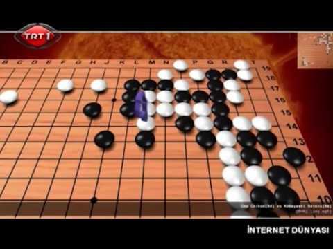 TRT 1 İnternet Dünyası'nda Go oyunu