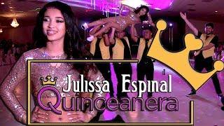 Video Julissa Espinal Quinceanera Surprise Dance  | Baile Sorpresa | #rhythmwriterz download MP3, 3GP, MP4, WEBM, AVI, FLV Agustus 2018