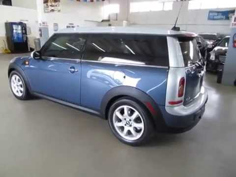 Used Cars Miami >> 2010 Mini Cooper Clubman used cars Miami Vehiclemax net blue and silver 31777 - YouTube
