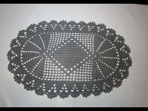 Uncinetto Crochet Centrino Youtube