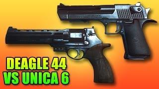 Battlefield 4 Deagle 44 VS Unica 6 - Best Pistols? (Desert Eagle vs Metaba)