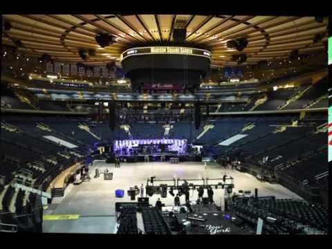 Madison Square Garden Concert Setup