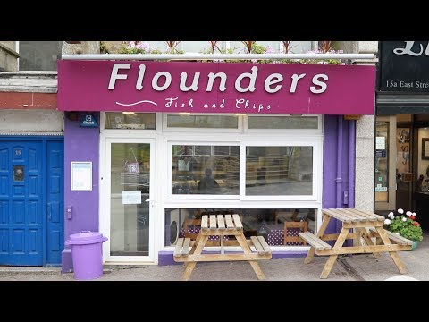 Flounders Fish & Chips In Newquay