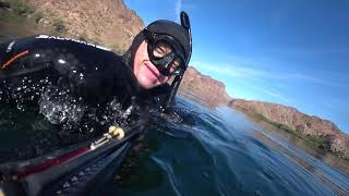 Подводная охота с экшн-камерой