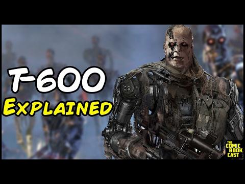 Terminator T-600 Explained